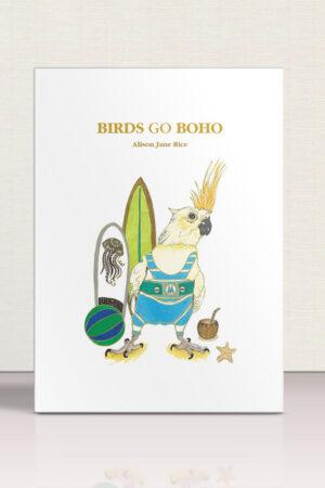 Birds Go Boho – Soft Cover